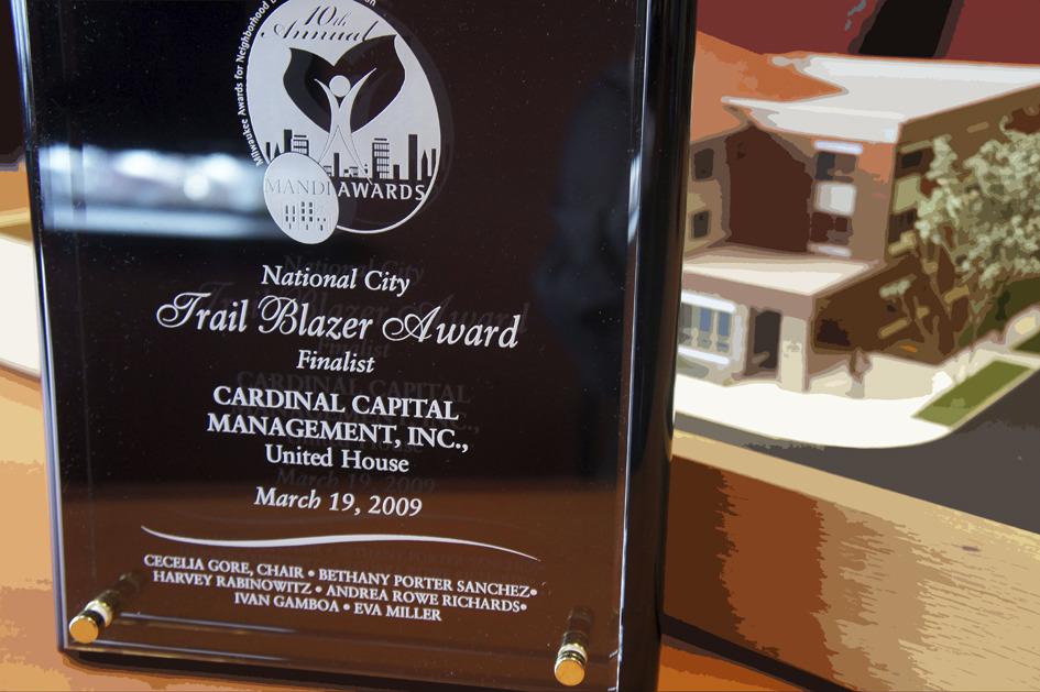 2009 LISC Trail Blazer Award Finalist