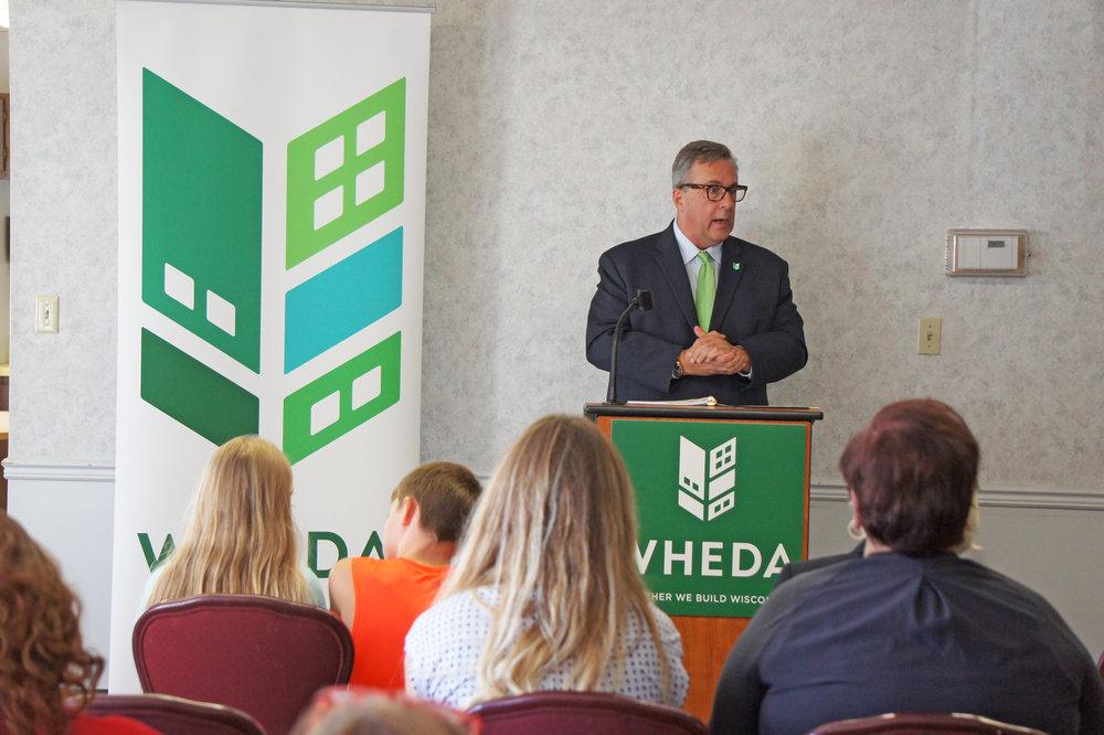 Brian Schimming, Deputy Executive Director, WHEDA