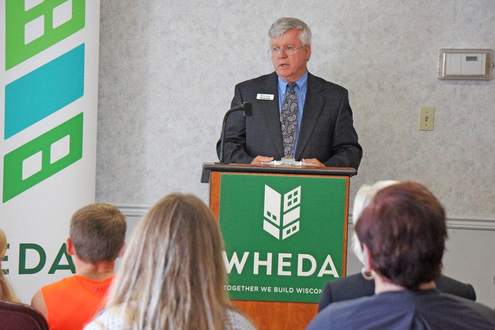 George Petak, Senior Business and Community Engagement Officer, WHEDA