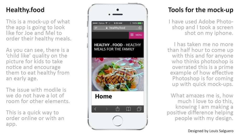The healthy.food app