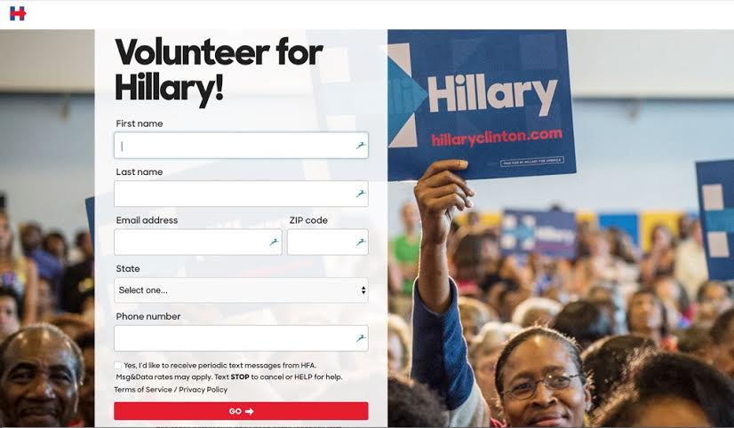 Hilary Volunteer navigation