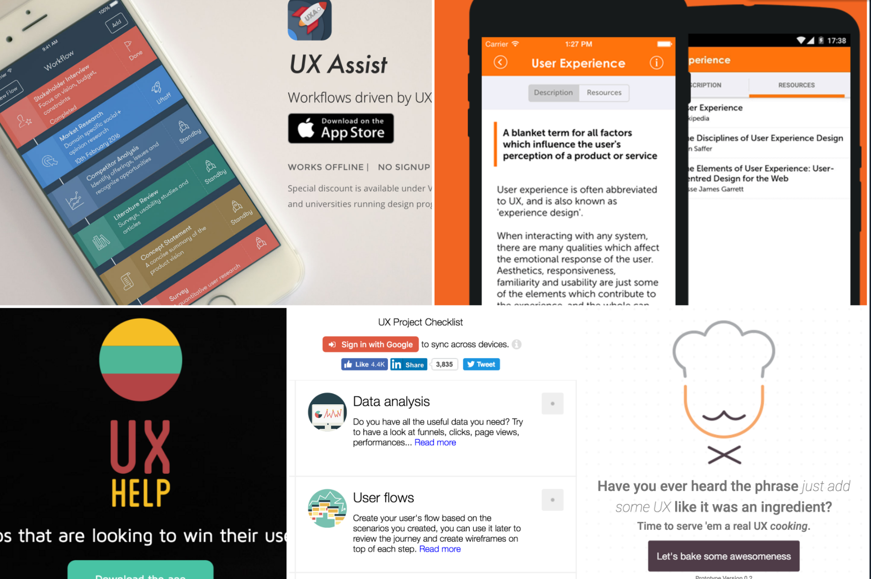 5 Awesome UX Checklist Apps