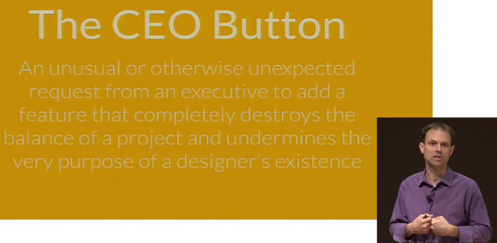 "From Tom Greever's presentation ""Articulating Design Decisions"""