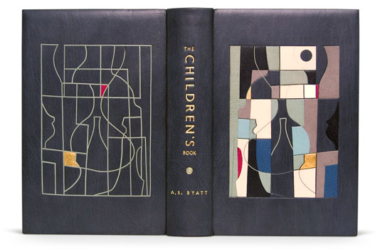 2009 - Derek Hood's 2nd binding in this list. The panels are just amazingly sharp and smart.  http://www.designerbookbinders.org.uk/exhib/booker/booker_2009/booker_5.html