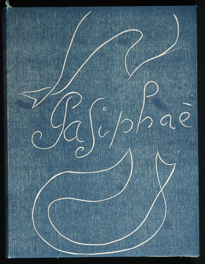 Pasiphaé: Chant de Minos (Les Crétois) by H. de Montherlant (Paris: Martin Fabiani, 1944).