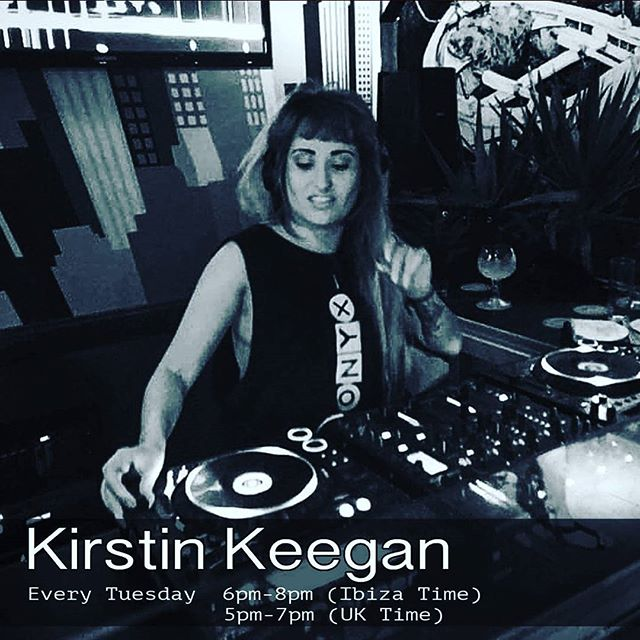 Tune in to the super talented @djkirstinkeegan today from (6-8pm Ibiza time). (5-7pm UK time) #housemusic #Techno #techhouse #deeptech #acidhouse #deeptechno #electronicmusic #london #detroit #chicago #ibiza #frankfurt #newyork #berlin #stockholm #glasgow #manchester #borabora