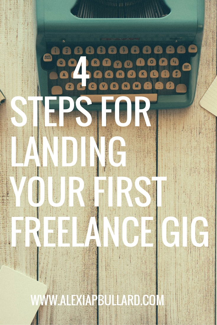 Tips for how to get your first freelance writing client || Alexia P. Bullard || www.alexiapbullard.com