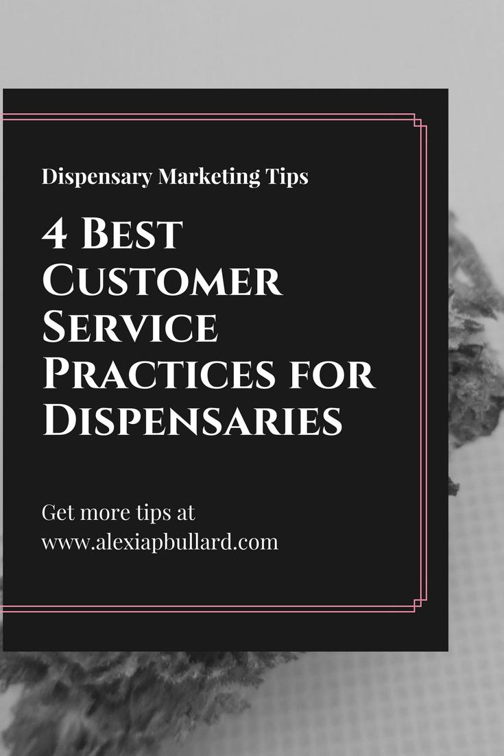 Dispensary Marketing Tips || www.alexiapbullard.com || Tacoma Business Writer