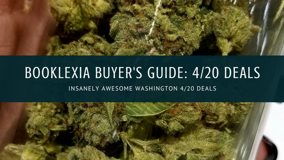 2018 Booklexia Buyer's Guide to Washington 4/20 Deals || Alexia P. Bullard.com || alexiapbullard.com