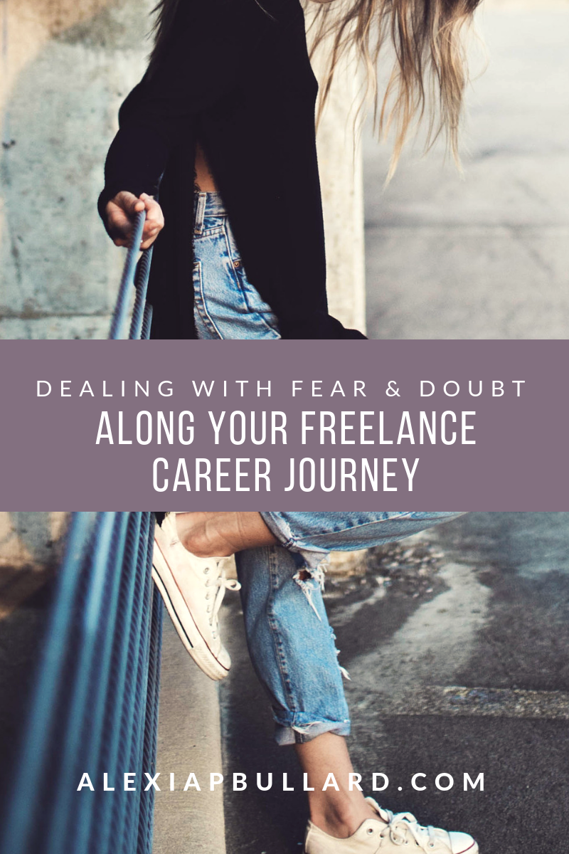 Dealing With Fear and Doubt Along Your Freelance Career Journey || Booklexia Freelance Coaching, cannabis content marketing, cannabis writer