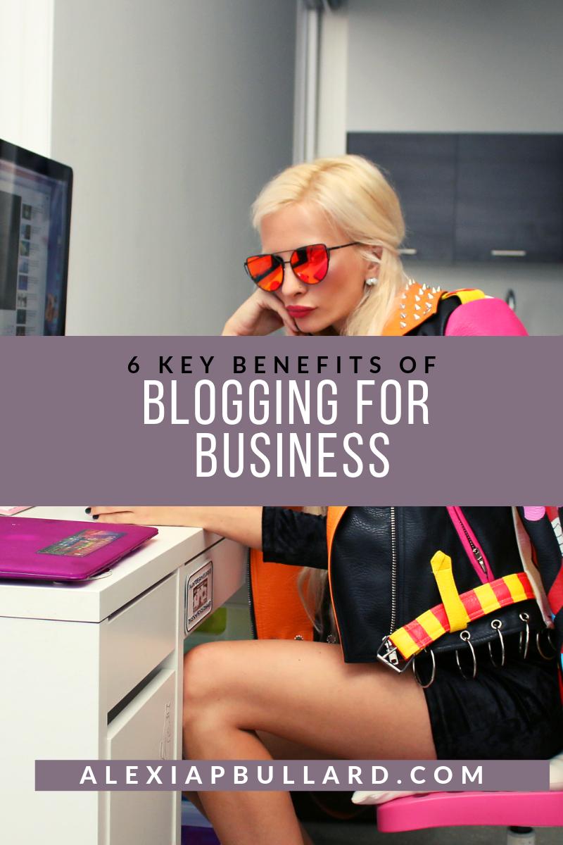 6 Key Benefits of Blogging for Business | Booklexia Content Marketing, cannabis content marketing, cannabis marketing