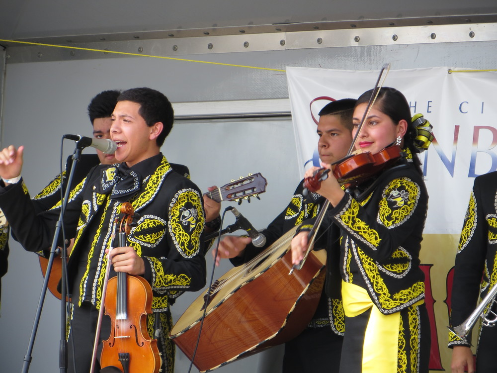 Mariachi's Performing at an Edinburg Arts event in 2015