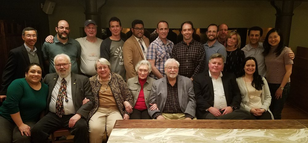 Members of the LAJF Board of Directors and guests in New York City.