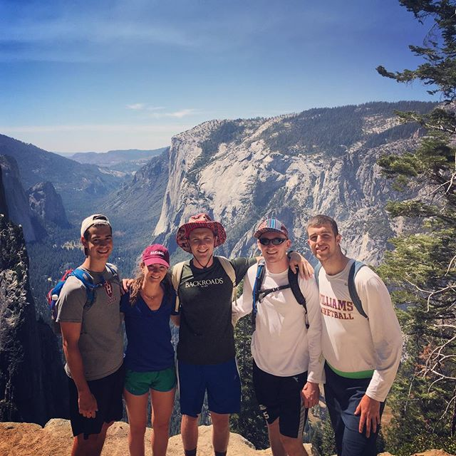 #TBT to hiking Glacier Point! #BambaBlue #SafariBamba @tribal_threadz