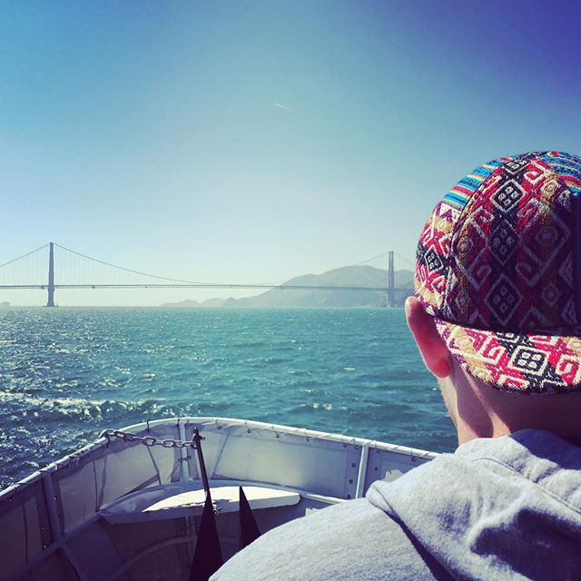 The one and only @yaboisk45 rockin his #BambaBlue Tribal Threadz in San Francisco! #ShowYourTribalSide @tribal_threadz #PhotoOfTheWeek