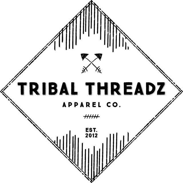 Introducing the BRAND NEW Tribal Threadz logo! #ShowYourTribalSide #TribalThreadz
