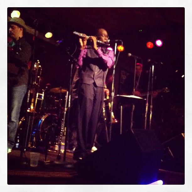 Marcus Farr on flute