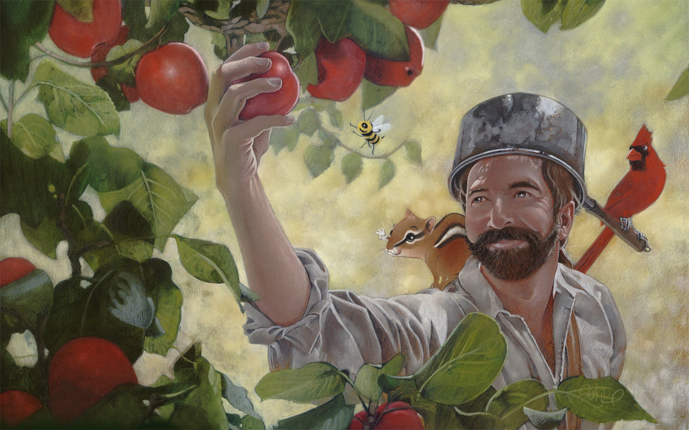 Johnny Appleseed (Illustrated by  Joshua S. Brunet )