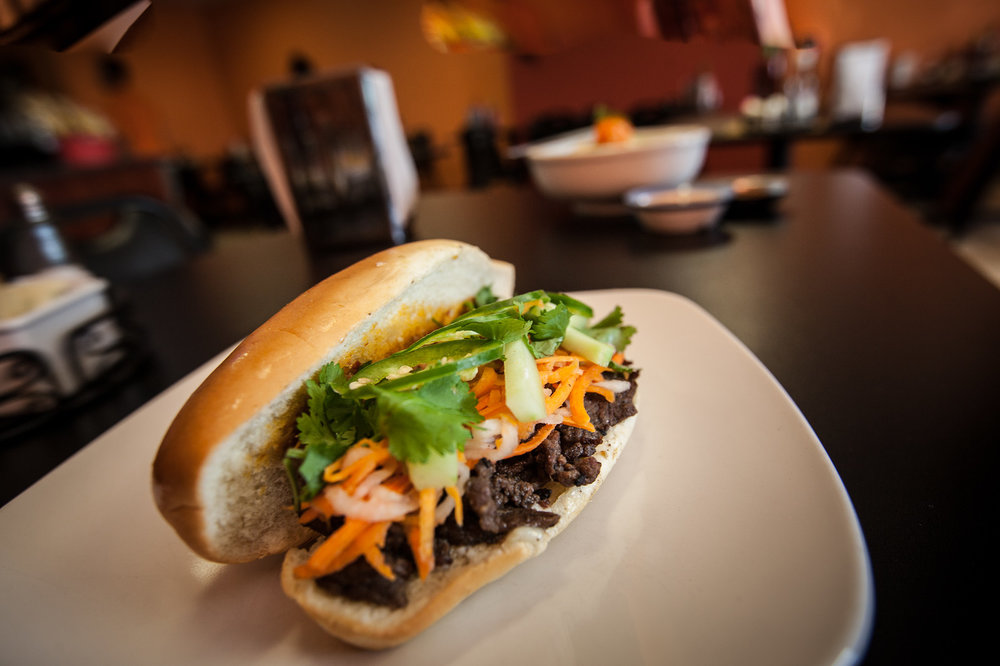 BMB Korean BBQ banh mi sandwich  ( Tony Frantz )