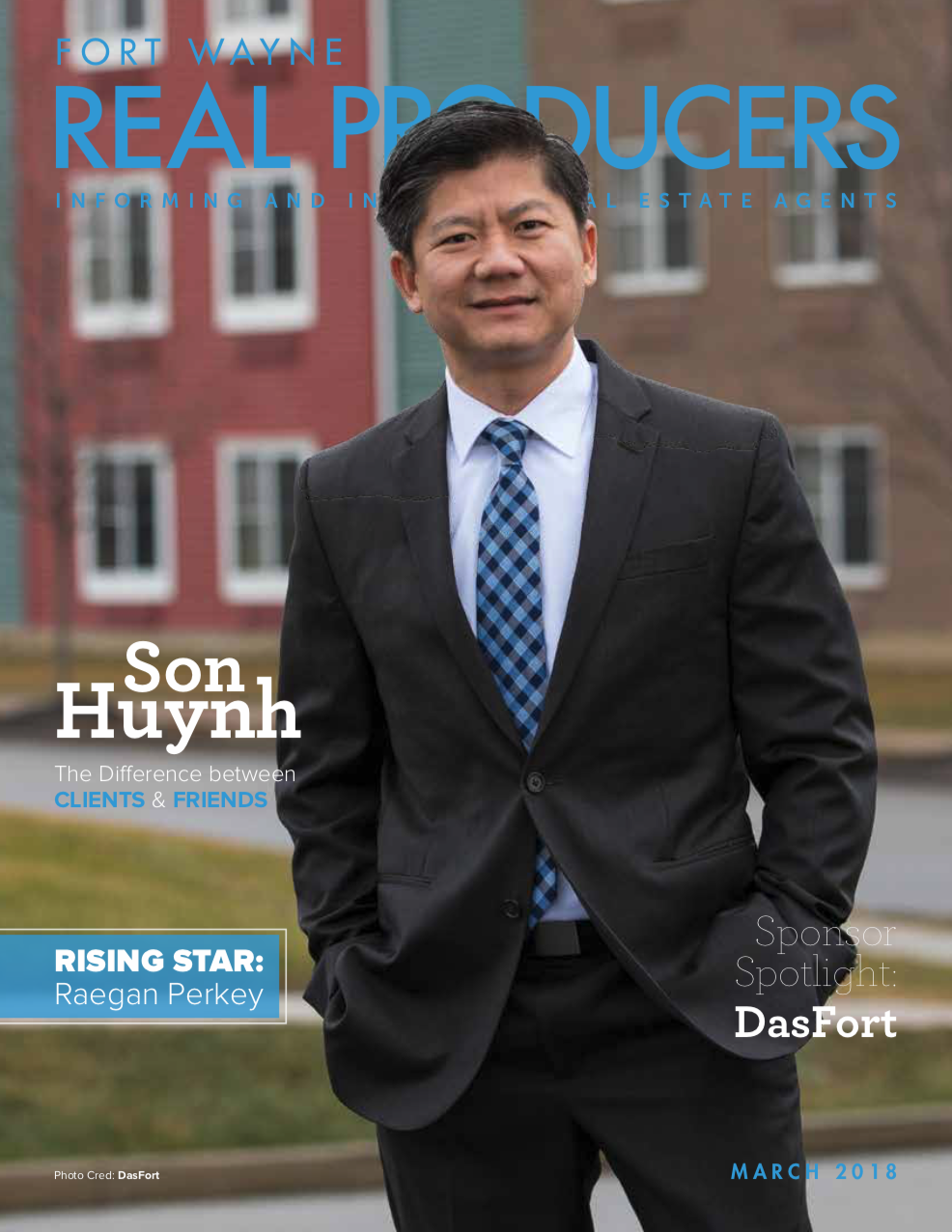 Son Huynh, second cover of  Real Producers Fort Wayne