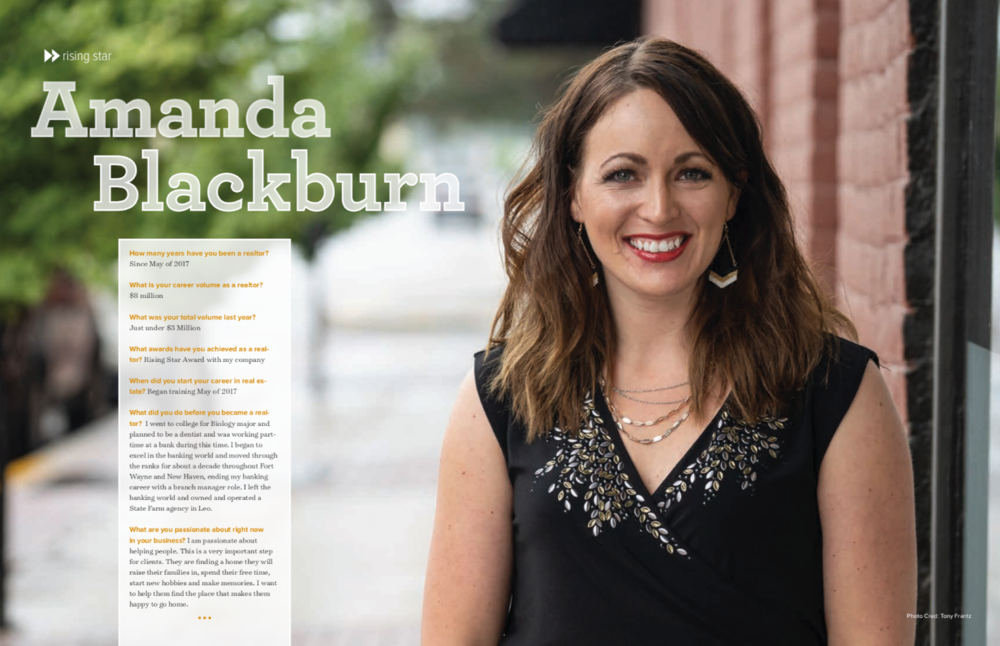 Fort Wayne Real Producers Amanda Blackburn DasFort