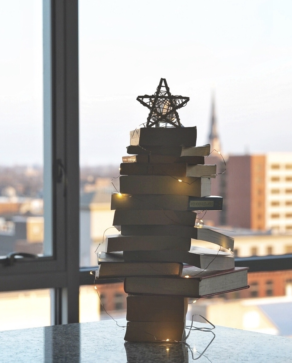 A book-ish tree