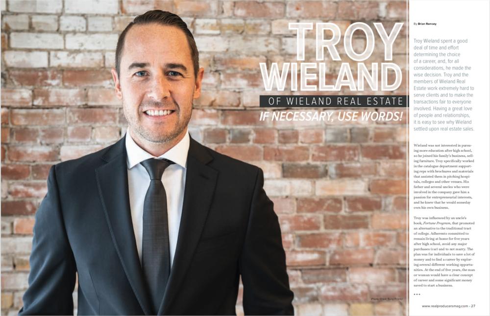Troy Wieland Real Producers Fort Wayne DasFort