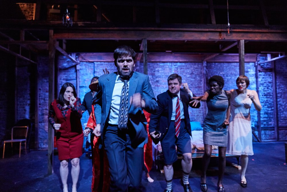 What of the Night  by Maria Irene Fornes  Stage Left and Cor Theatre at Theatre Wit Chicago 2017