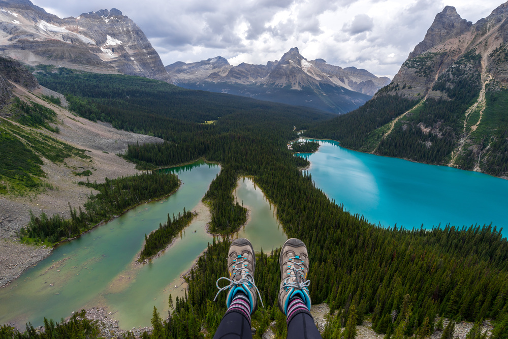 6. Take in the epic views of Lake O'Hara: Lake O'Hara is one of those untouched places that is just bursting with natural beauty. Epic views for days with no crowds makes this place one of my favorites.