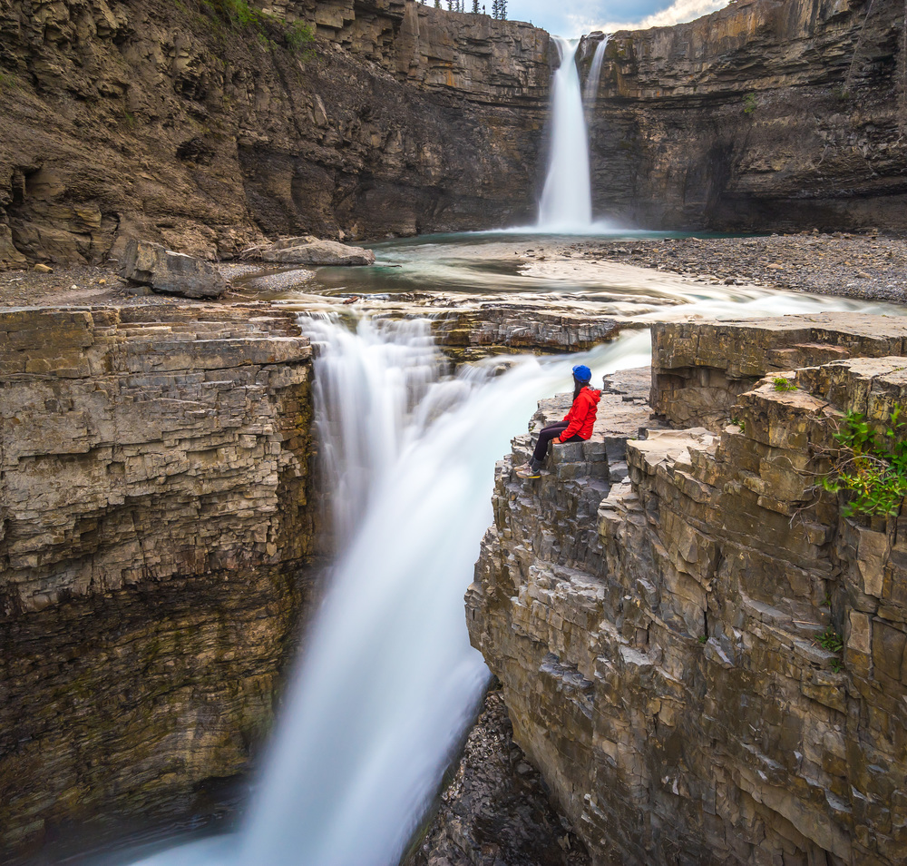 8. Living life on the edge at Crescent Falls: Perched over the edge of these falls, the sheer power is enough to take your breath away. If you're not living life on the edge, you're taking up too much space.
