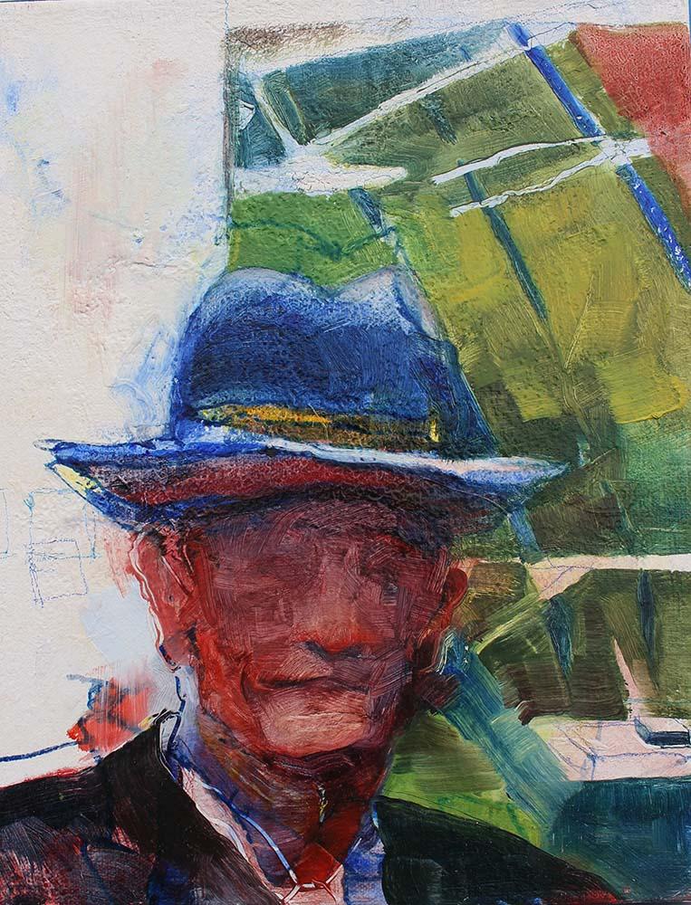 Gary's Blue Hat
