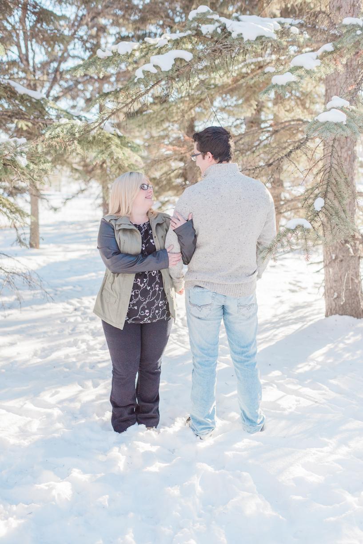 Edmonton Winter Engagement Session