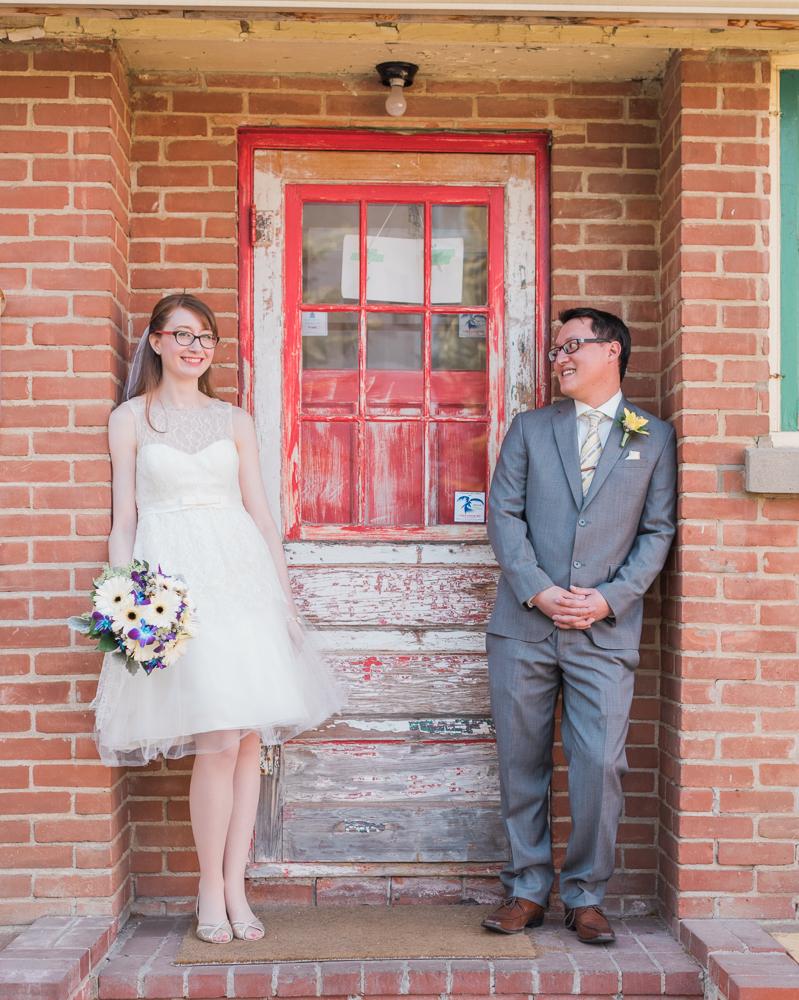 Edmonton Little Brick Cafe Wedding