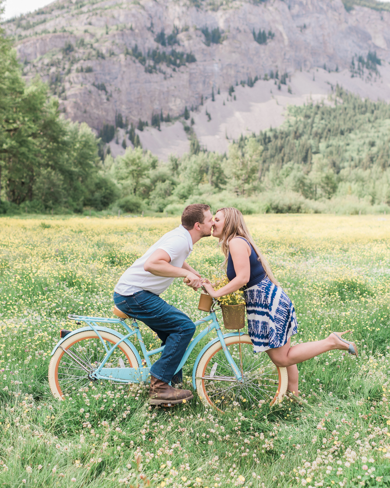 Blairmore Alberta Engagement Session