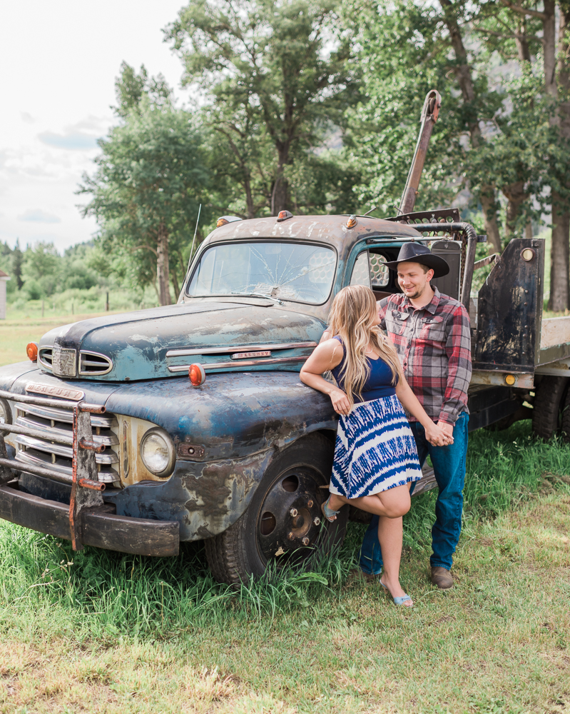 Blairmore Farm Engagement Session