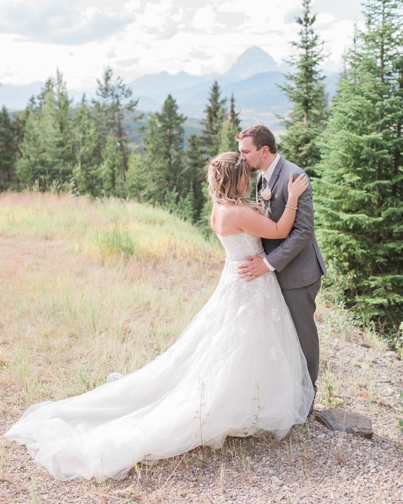 Blairmore Mountain Wedding