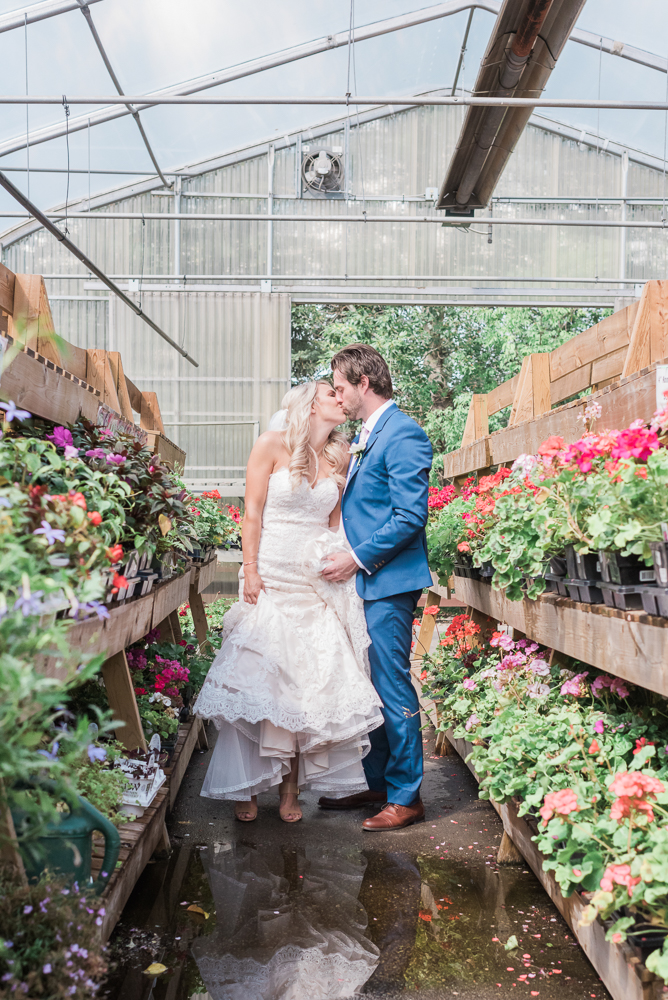 Edmonton Greenhouse Wedding
