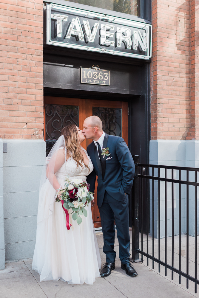 Edmonton Mercers Tavern Wedding