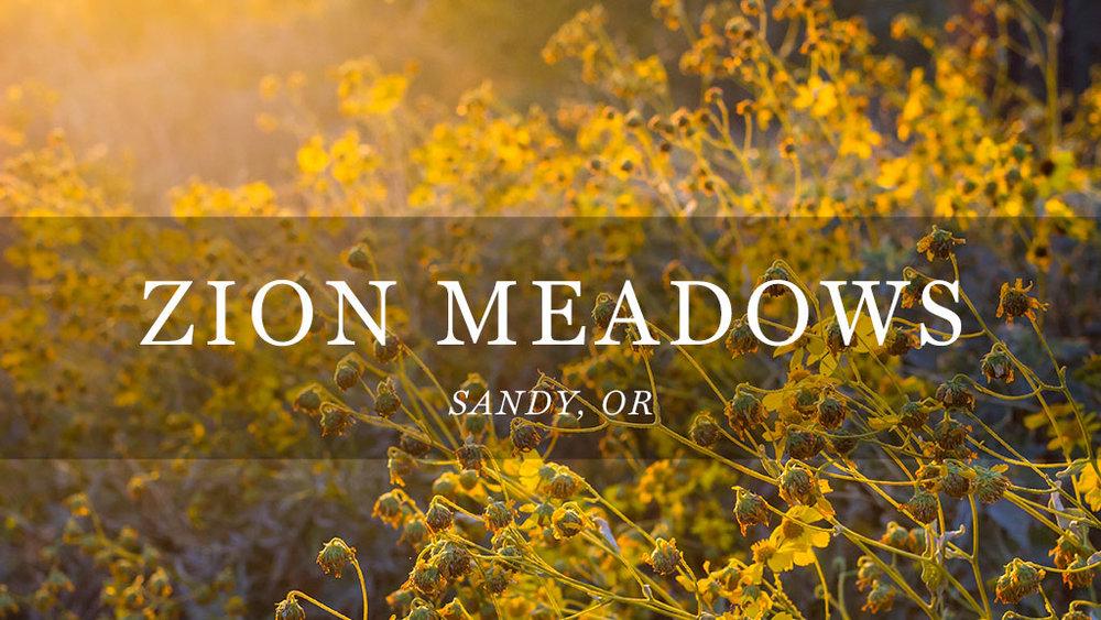 Zion Meadows // Sandy, OR