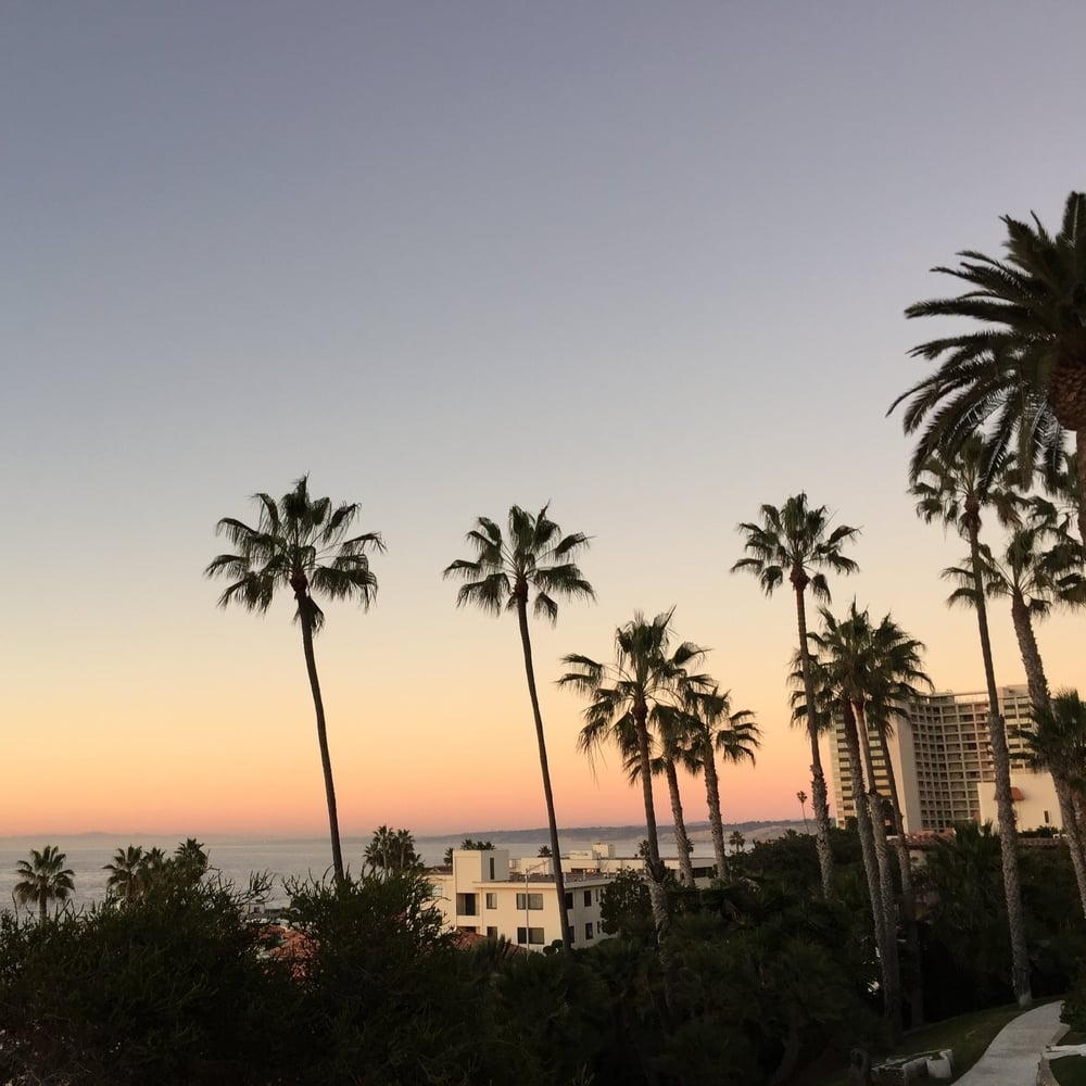 View from MCA San Diego, La Jolla branch