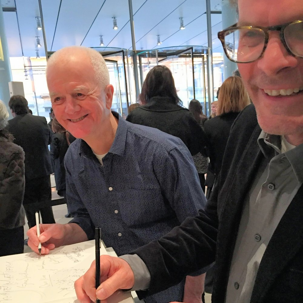 Artists' opening, Whitney Museum