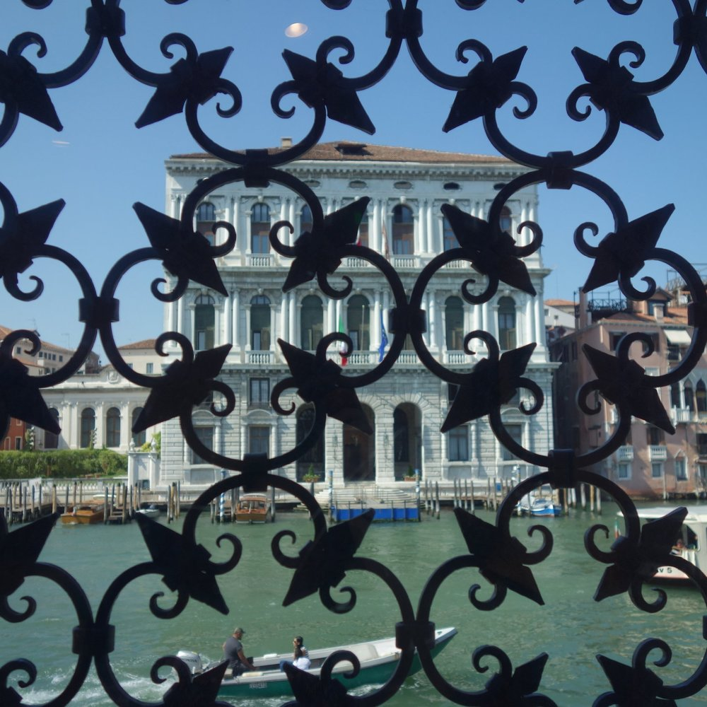 View from Peggy Guggenheim museum in Venice