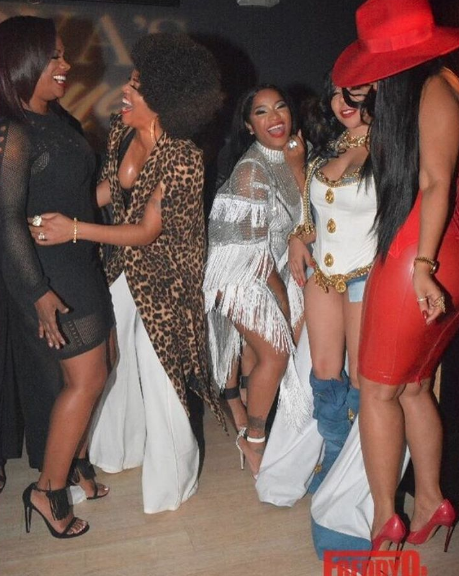 Kandi Burruss, Rasheeda, Toya Wright, Tiny, and Tammy Rivera