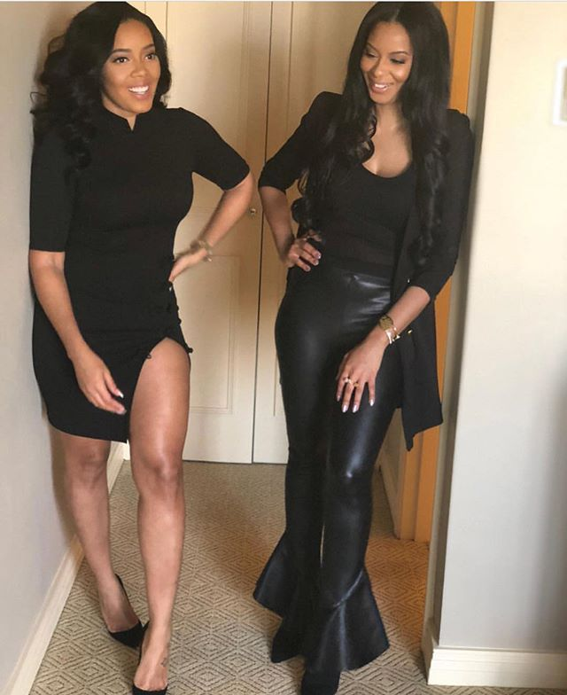The Simmons Sisters 💞 .  #toomuchinfo #positivenews