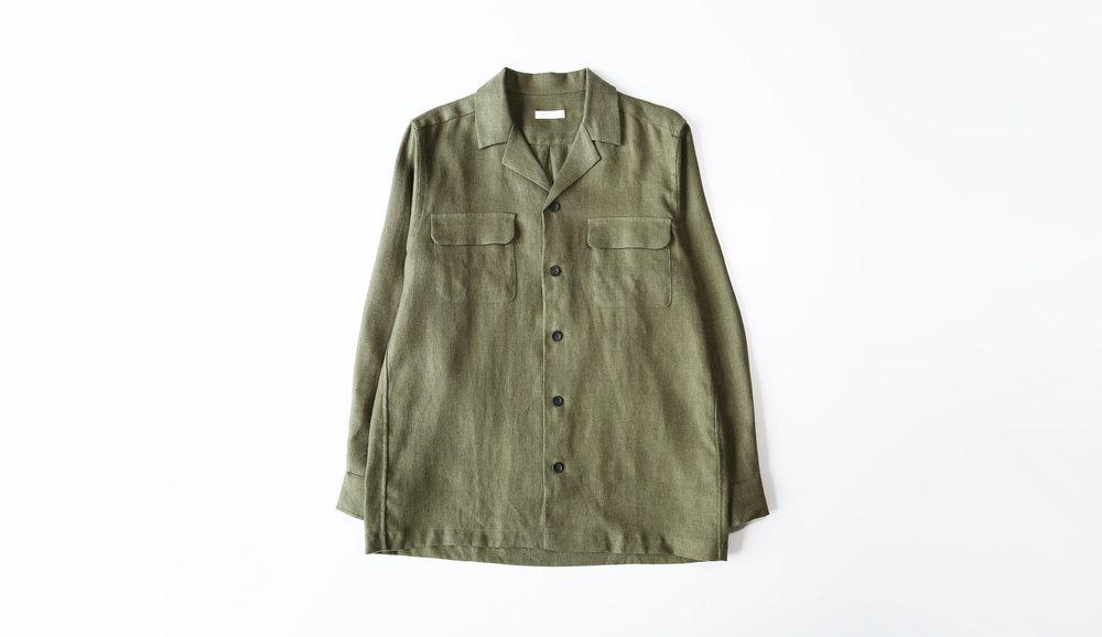 niuhans_irishlinen_opencollar_shirt_jacket_olive07.jpg