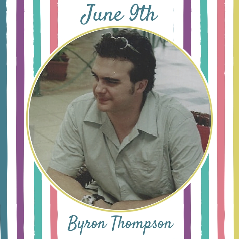 The story below is told through the voice of Byron Thompson's mother, Jane Thompson.