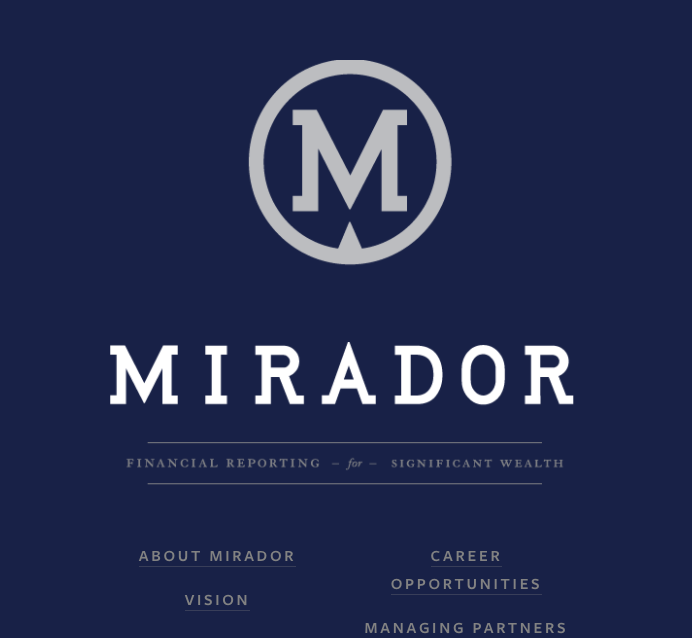 + Mirador Financial Reporting