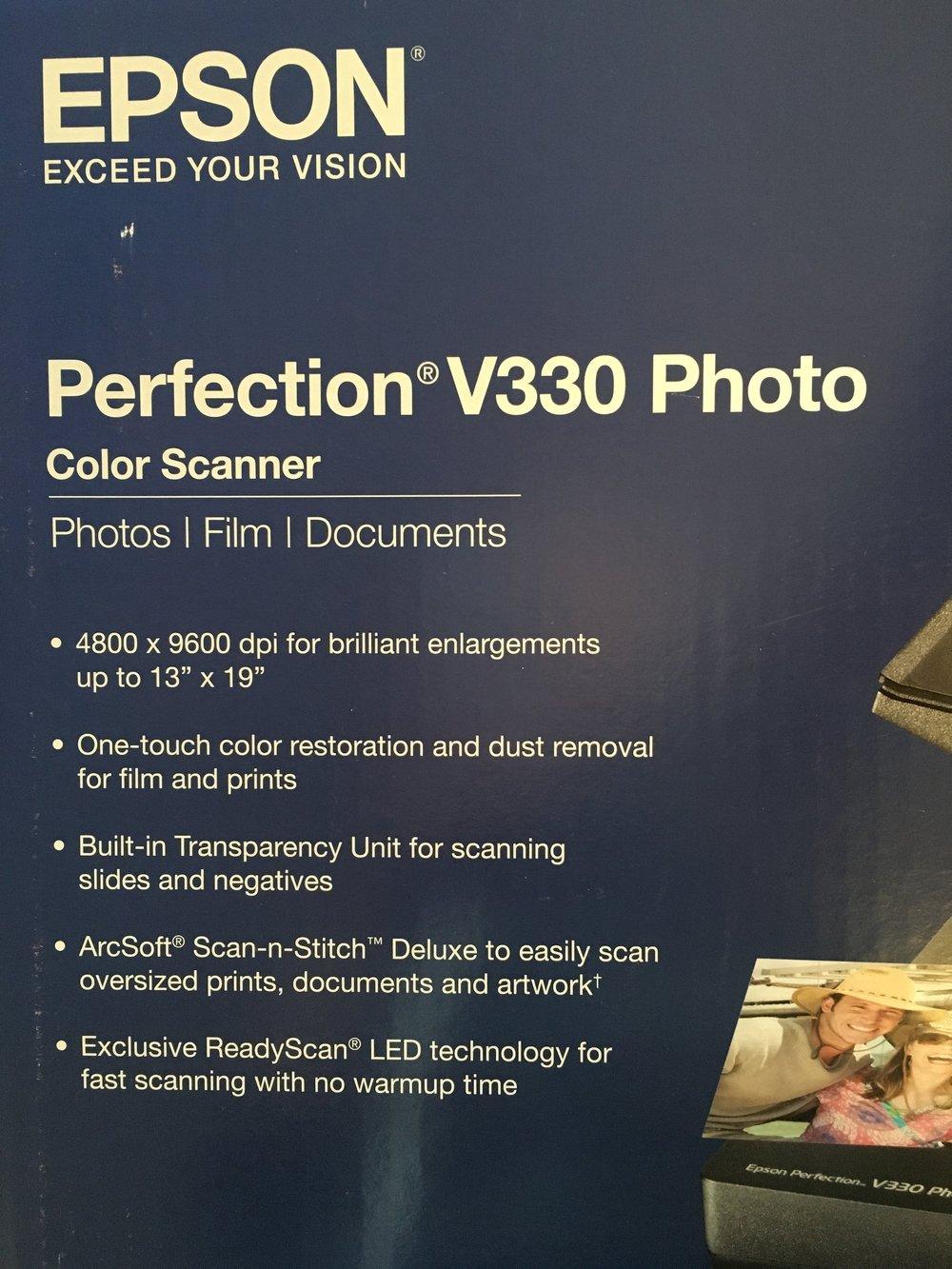 Scanner (negatives!) $80
