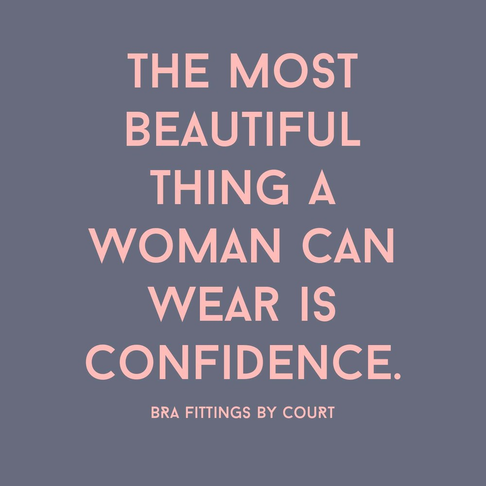 Beautiful Women Have Confidence Quote