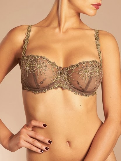 Chantelle Lace Demi Bra from Fry Sauce and Grits